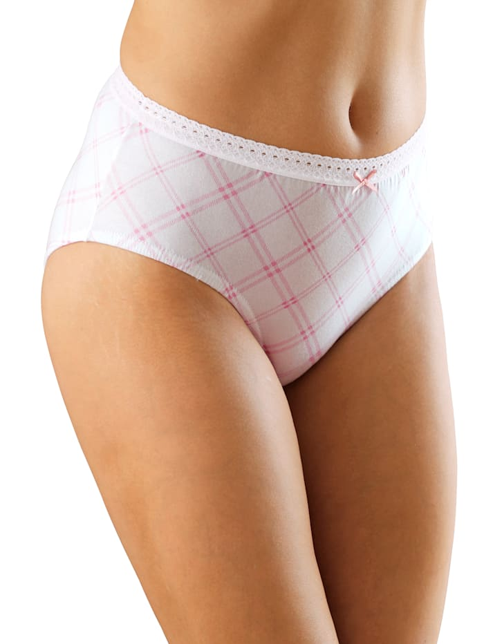 Ruudulliset alushousut 4/pakkaus
