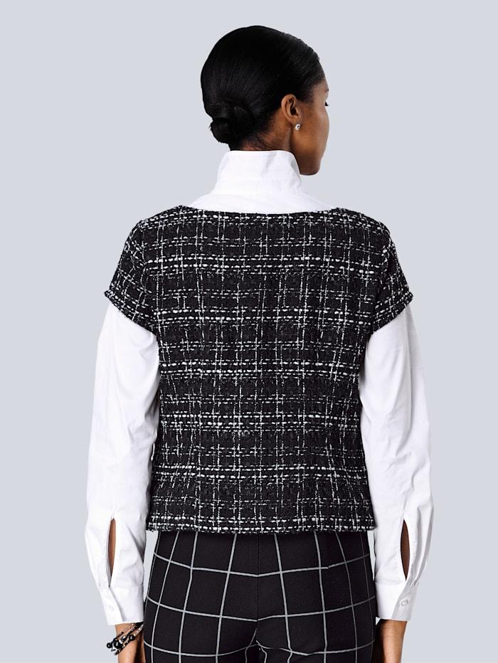 Blusen-Shirt in schöner Bouclé Qualität