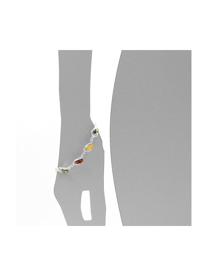 Armband - Ortrun - Silber 925/000 - Bernstein
