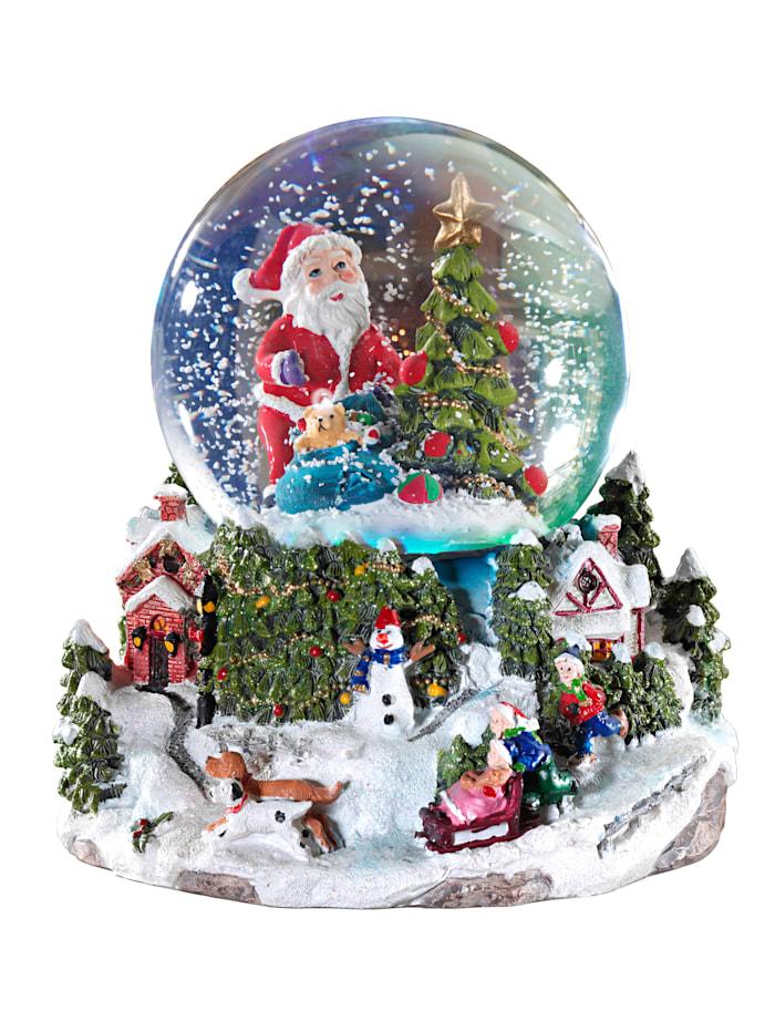 Reinart Faelens Kunstgewerbe Weihnachtliche Spieluhr, mehrfarbig
