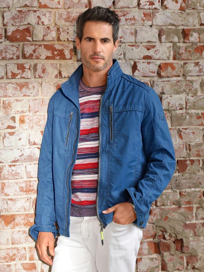 BABISTA Jacke in leichter Baumwollqualität, Blau