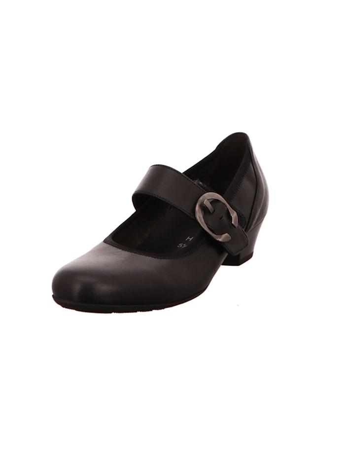 Gabor Damen Pump in schwarz, schwarz
