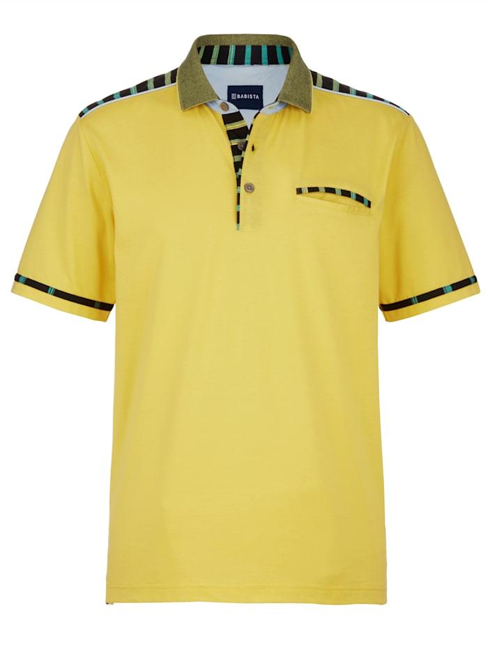 BABISTA Poloshirt met katoen en microfibre, Geel