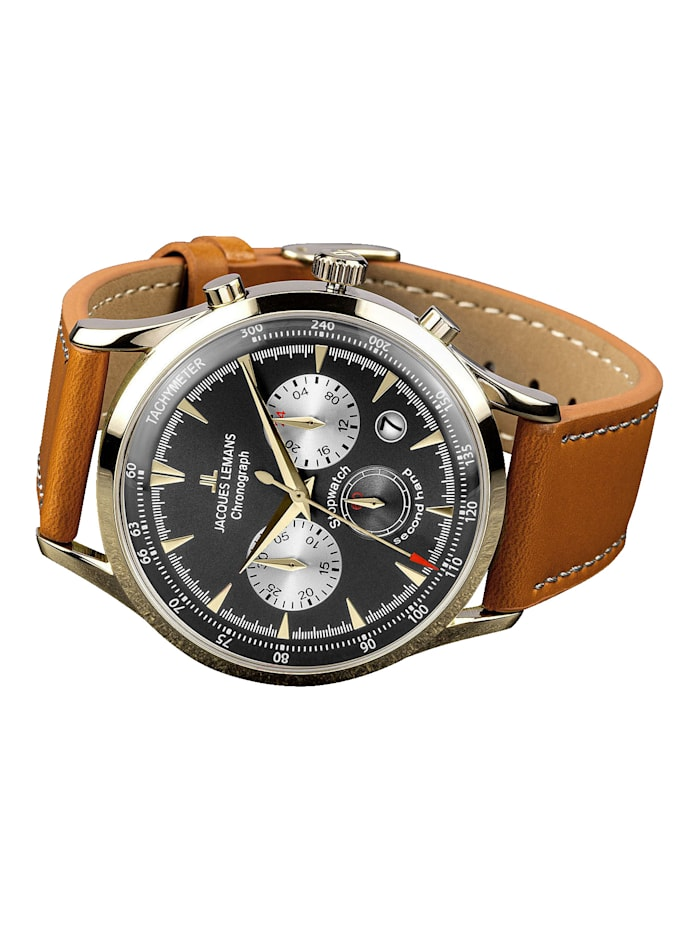 Herren-Uhr Chronograph Serie: Retro Classic, Kollektion: Retro Classic: 1- 2068J