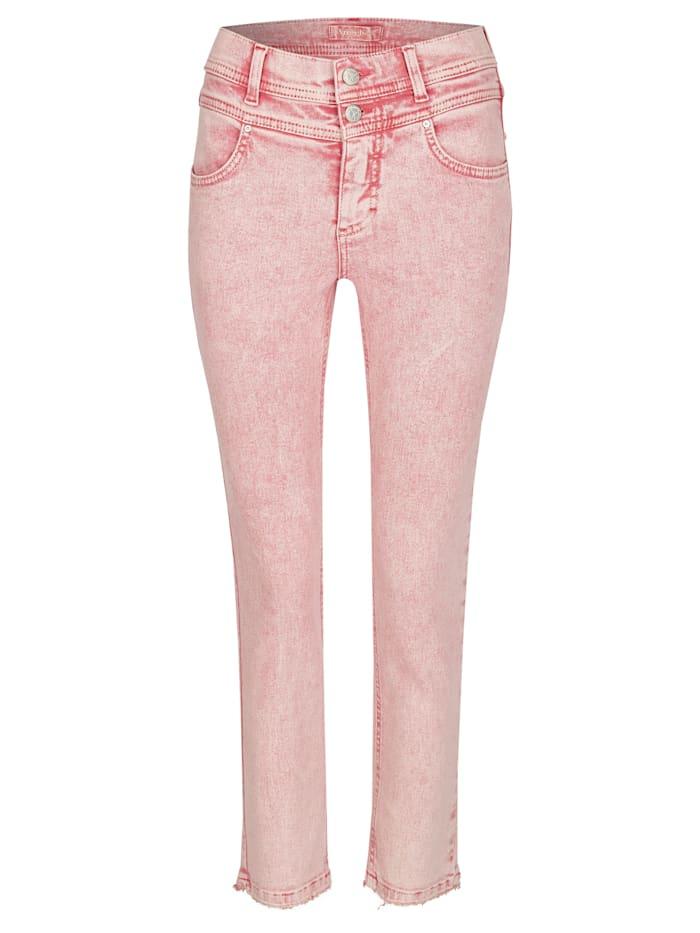 Angels Jeans 'Ornella Button Moon' aus weichem Denim, aperol moonwash