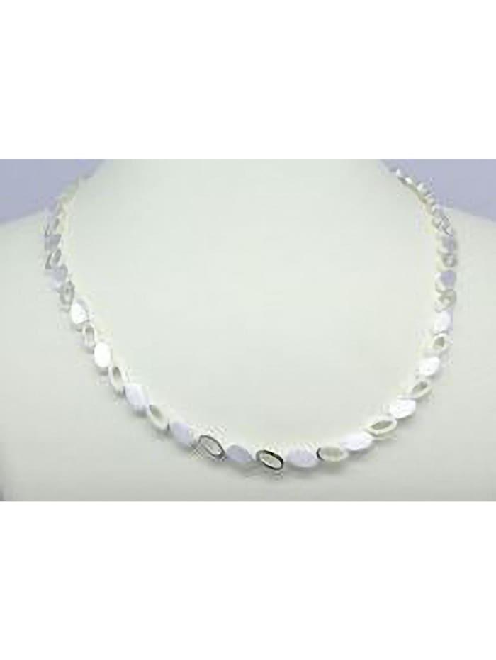 One Element Damen Schmuck Halskette aus 925 Silber 42 cm, silber