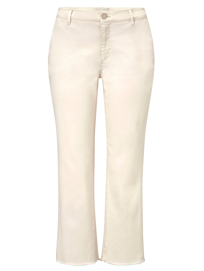 Milano Italy Hose, Creme-Weiß