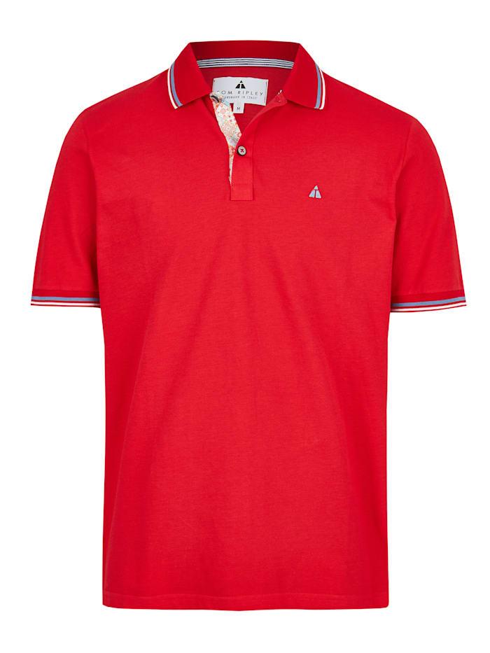 Hajo Premium Pikee-Poloshirt, rot
