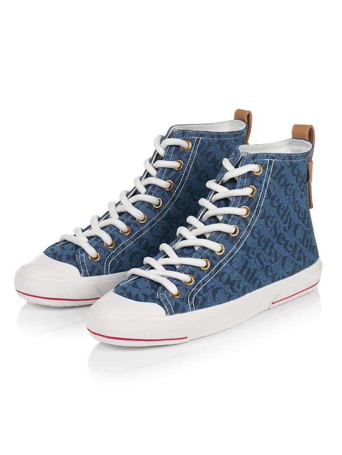 SEE BY CHLOÉ Hightop-Sneaker, Blau