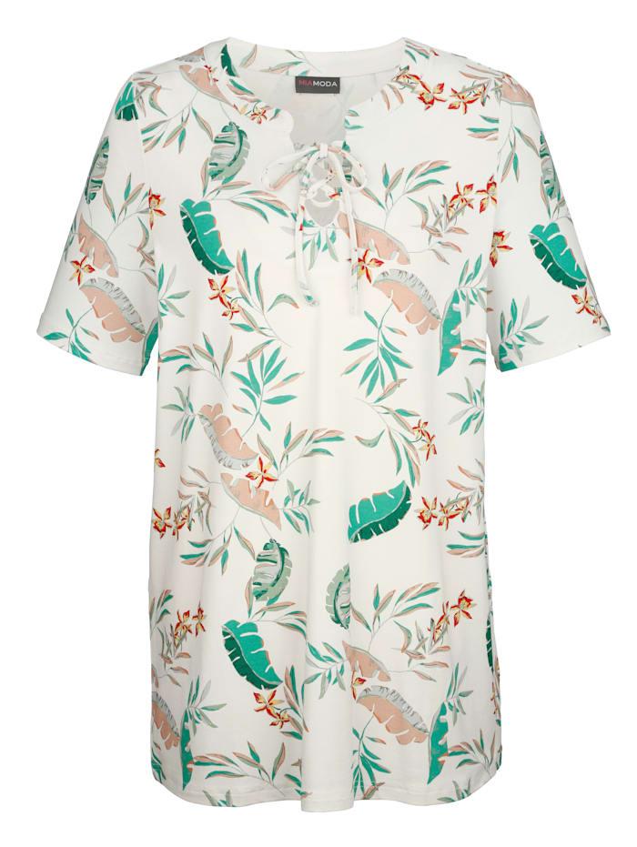T-shirt à imprimé jungle