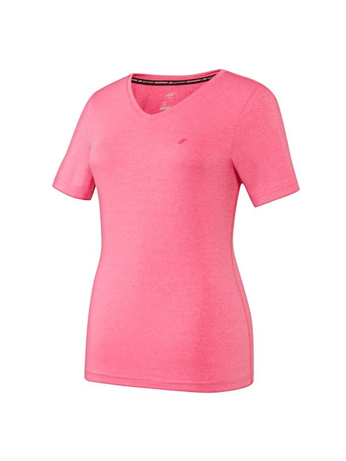 JOY sportswear T-Shirt ZAMIRA, himbeere melange