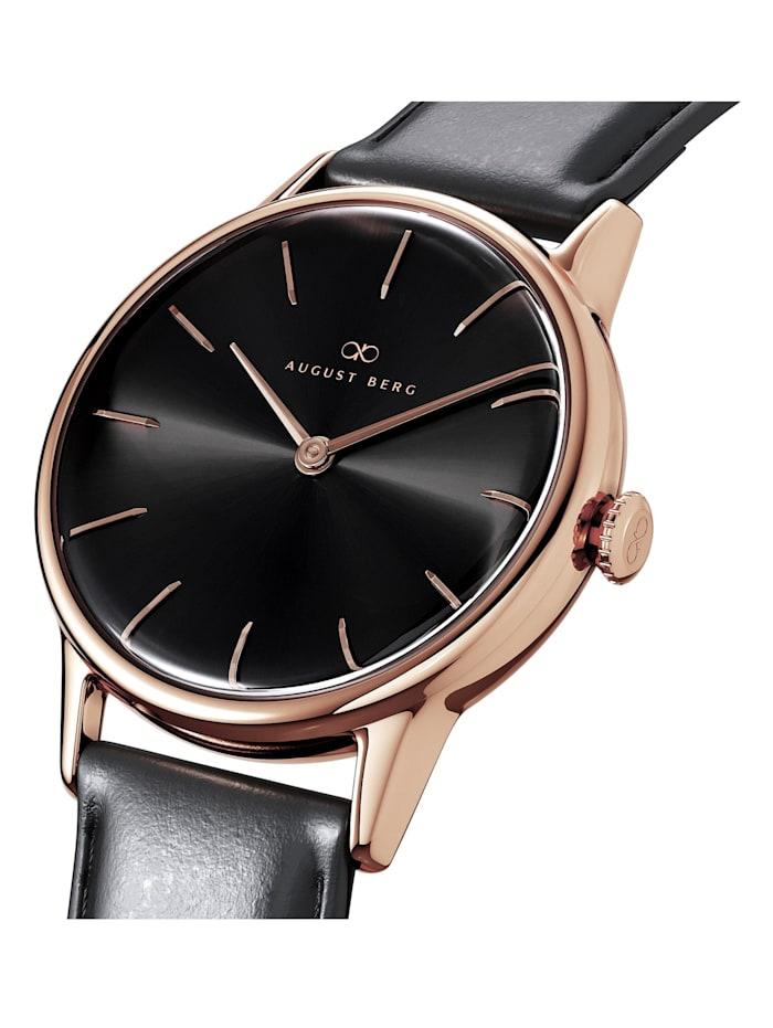 Uhr Serenity Noir Black Leather 32mm
