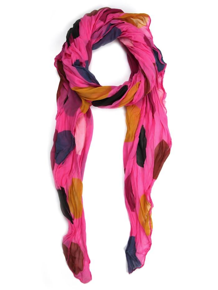 Collezione Alessandro Italienischer Schal Dena Made in Italy, pink
