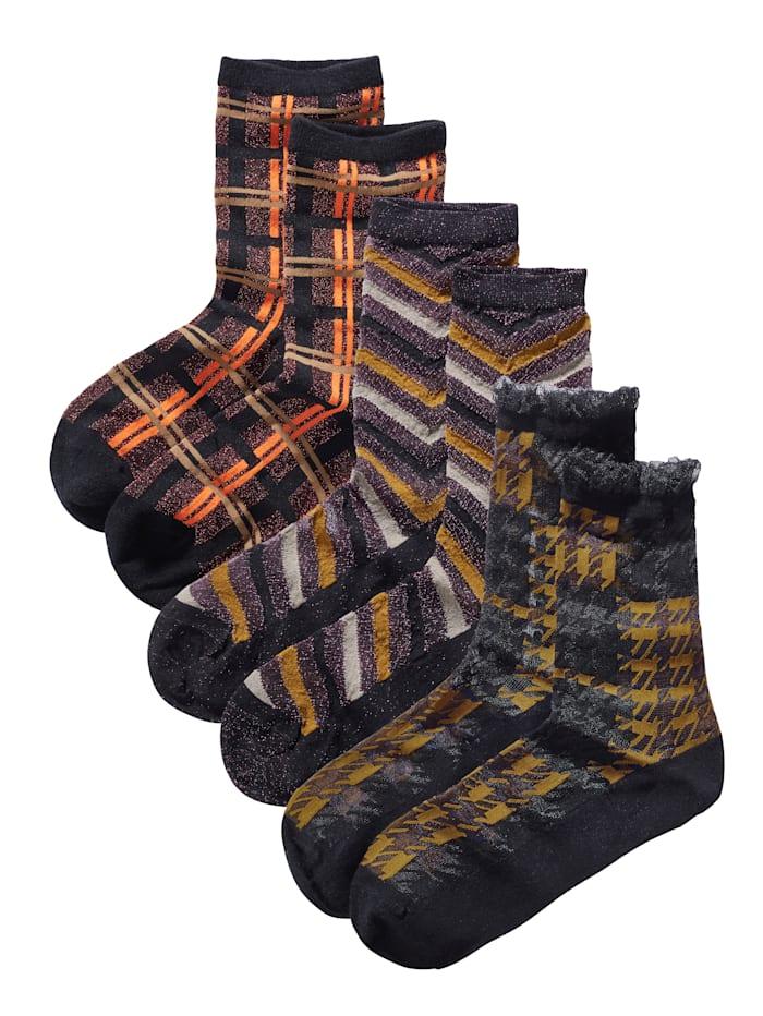 Unmade Copenhagen Socken Set, Multicolor