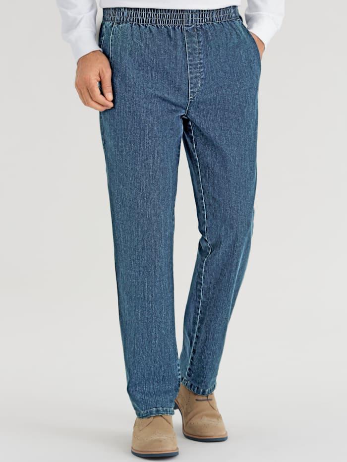 BABISTA Jeans met elastische band rondom, Light blue