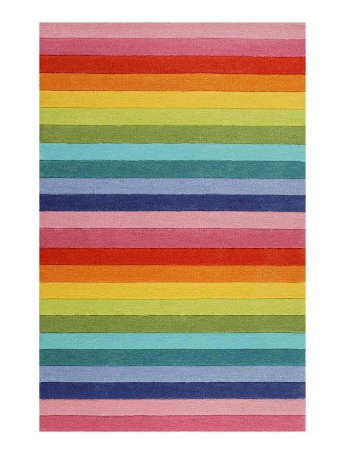 Smart Kids Smart Kids Teppich Rainbow Stripes, multicolor