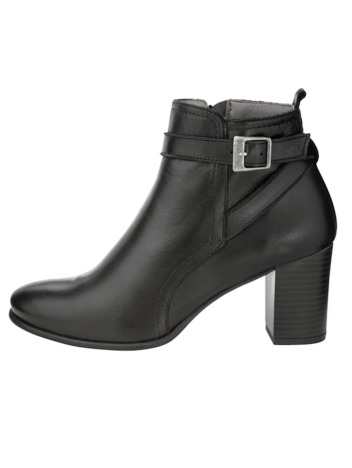 Ankle boots Made from super soft nappa leather