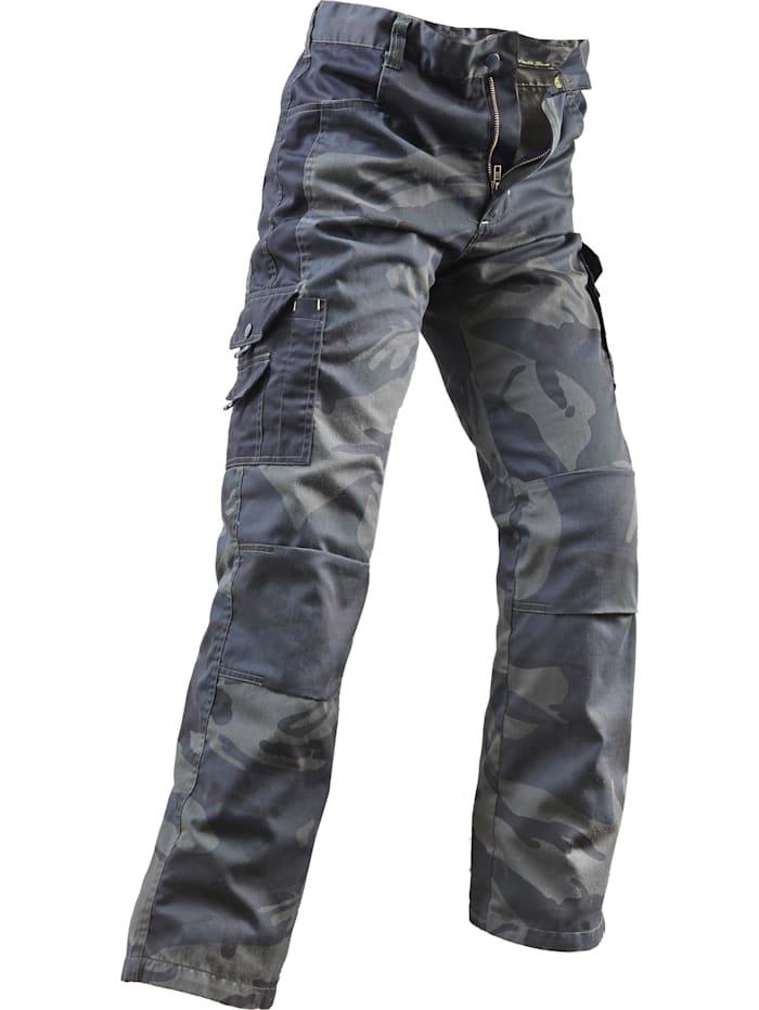 Uncle Sam Bekleidung Bundhose oliv camouflage/schwarz, oliv camouflage / schwarz
