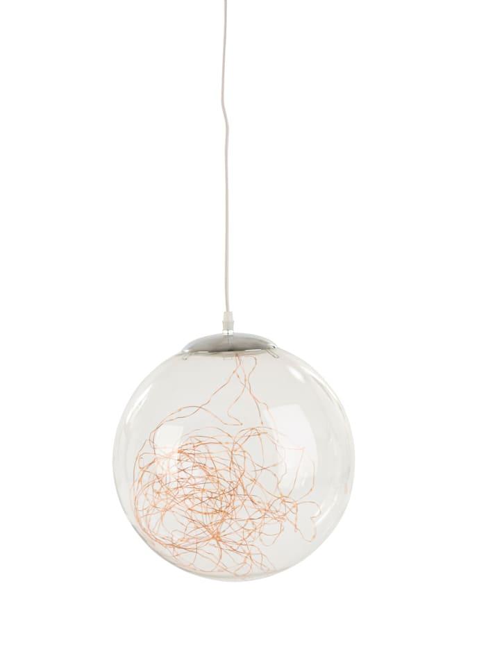 AM Design LED-Dekoleuchte, Kugel, Transparent