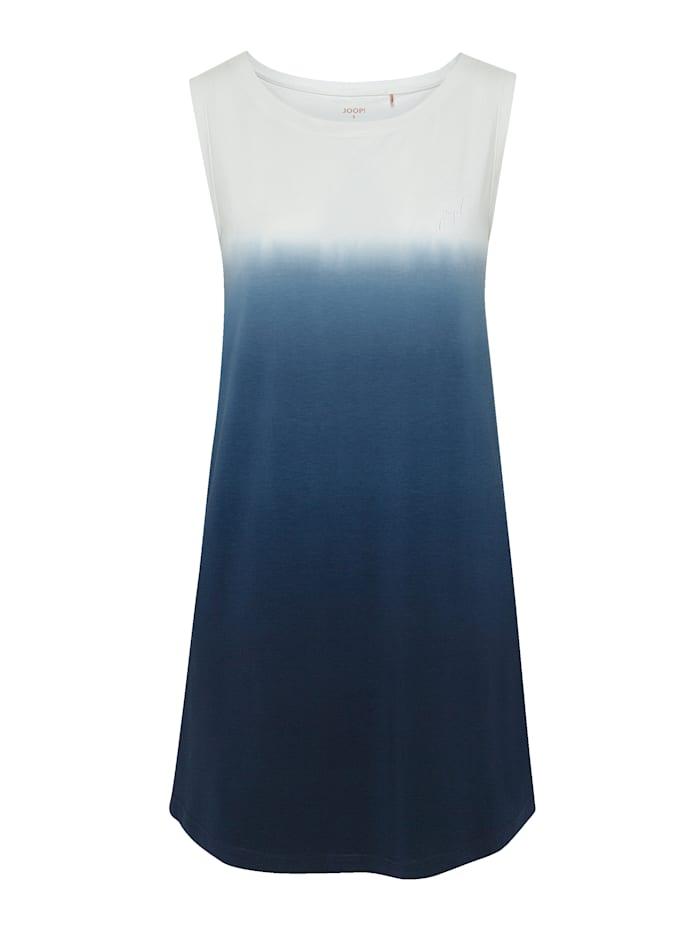 JOOP! Bigshirt aus der Serie Soft Pop, ecru/nachtblau