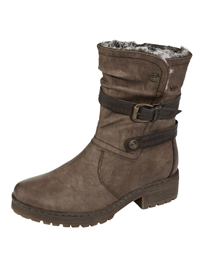 Relife Stiefelette mit Tex Membran, Taupe
