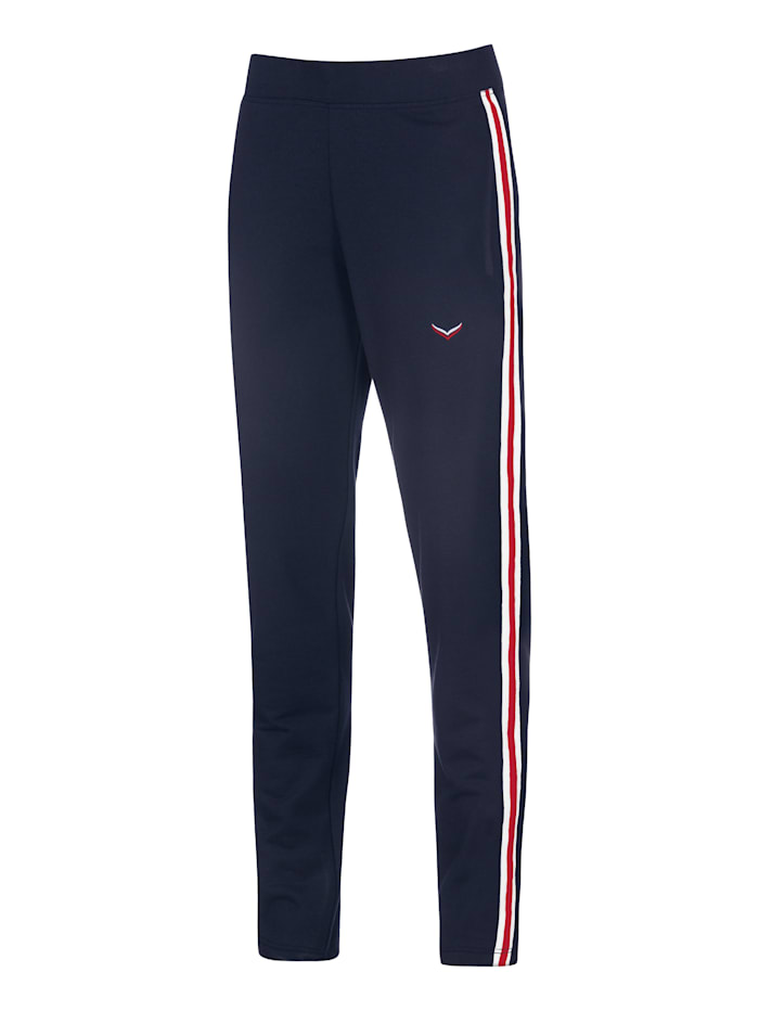 Damen Jogginghose mit kontrastfarbigen Streifen
