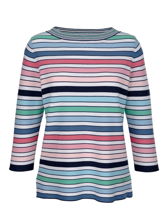 Pull-over à rayures