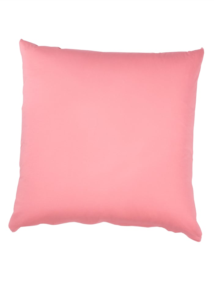 Webschatz Lot de 2 oreillers coton 'basiques', Vieux rose