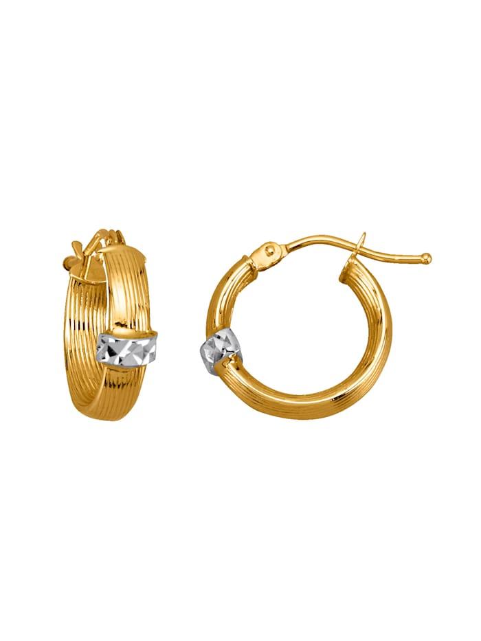 Kultaiset korvarenkaat, Keltakullanvärinen