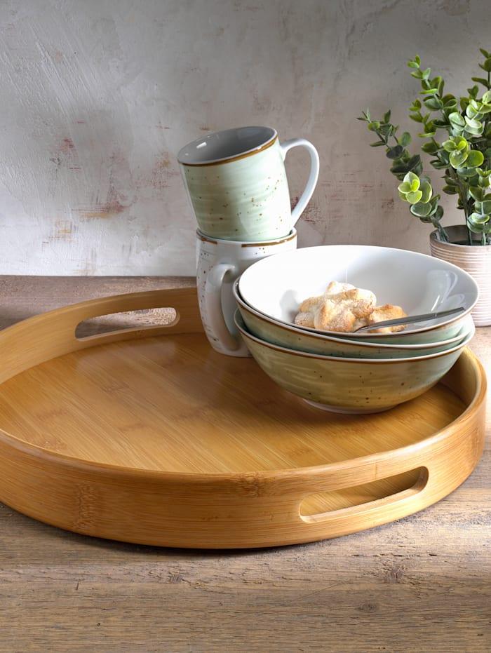 Bambus-Tablett, Ø 38 cm