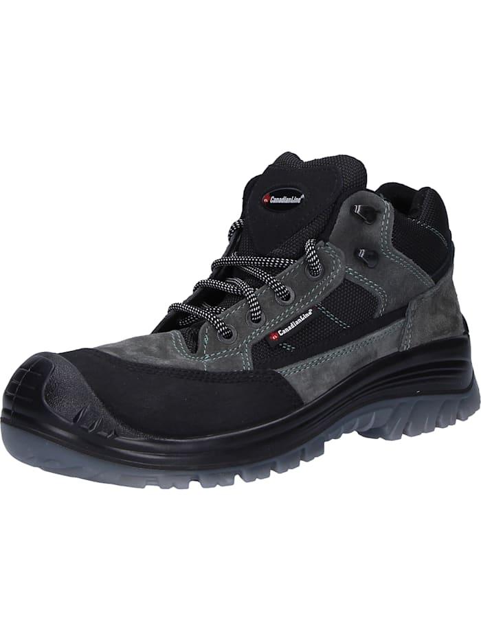 CanadianLine Sicherheitsschuhe Ontario, schwarz/grau
