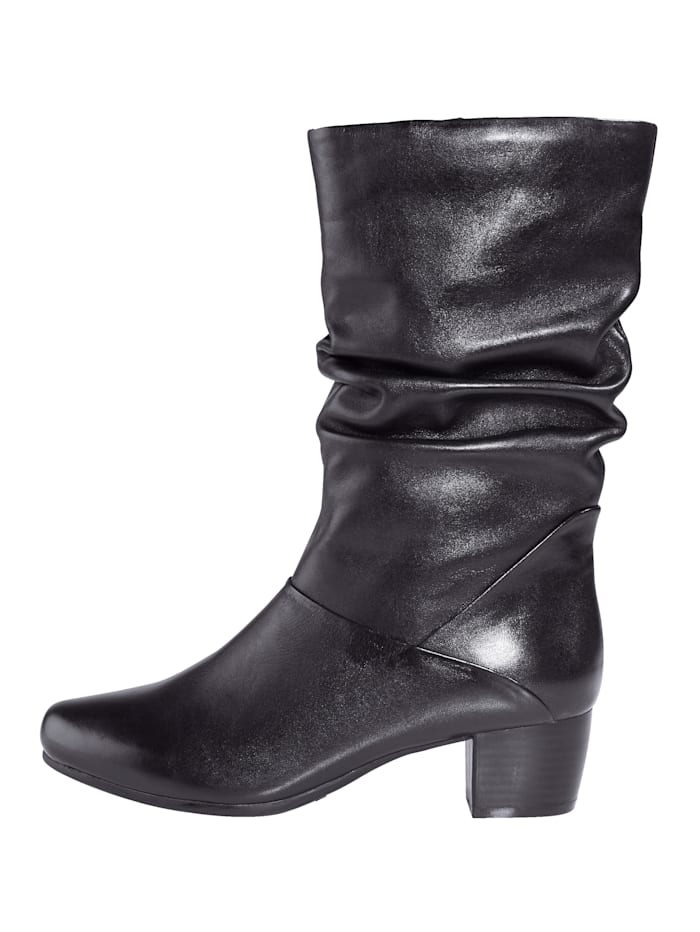 Ankle boots made from the finest leather