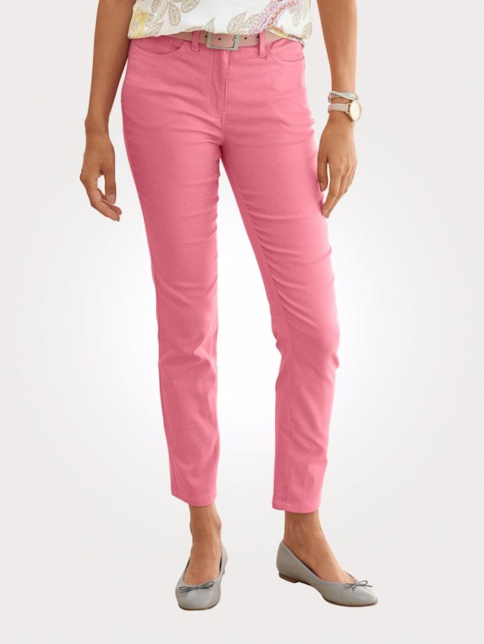 MONA Hose in sommerlicher Baumwoll-Mischung, Pink