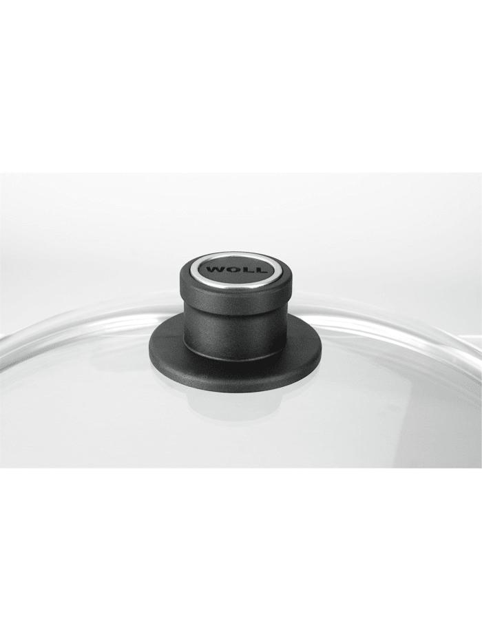 Woll Glasdeckel rund für Pfanne, Transparent