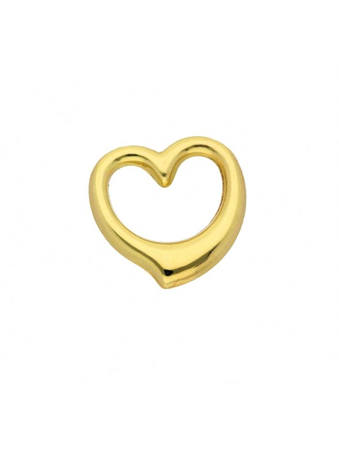 1001 Diamonds Damen Goldschmuck 585 Gold Anhänger Swingheart, gold