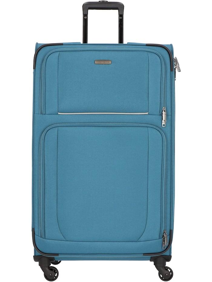 Travelite Garda 2.0 4-Rollen Trolley 78 cm, petrol-grau