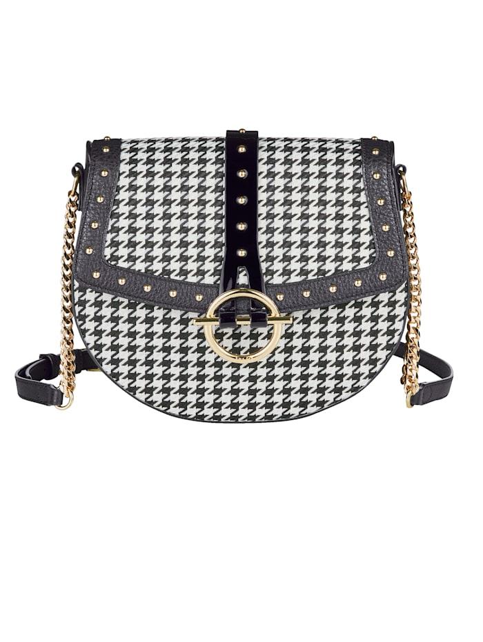 LIU JO Crossbody-Tasche, schwarz-weiß