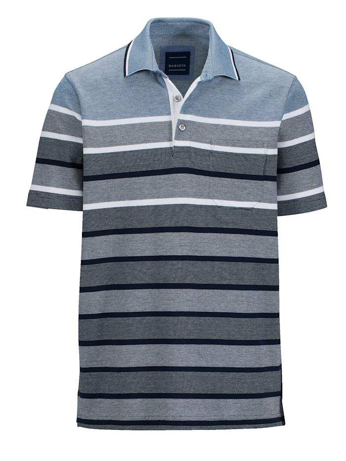 BABISTA Poloshirt van piquémateriaal, Blauw
