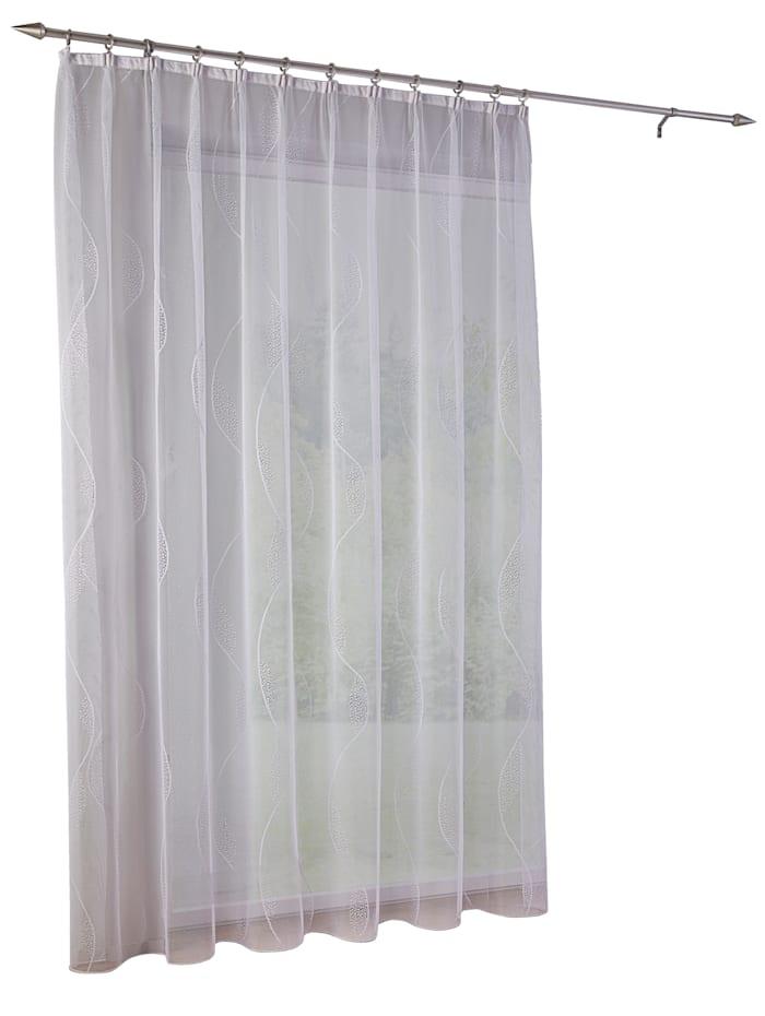 Home Wohnideen Žakárová záclona 'Talara', Biela