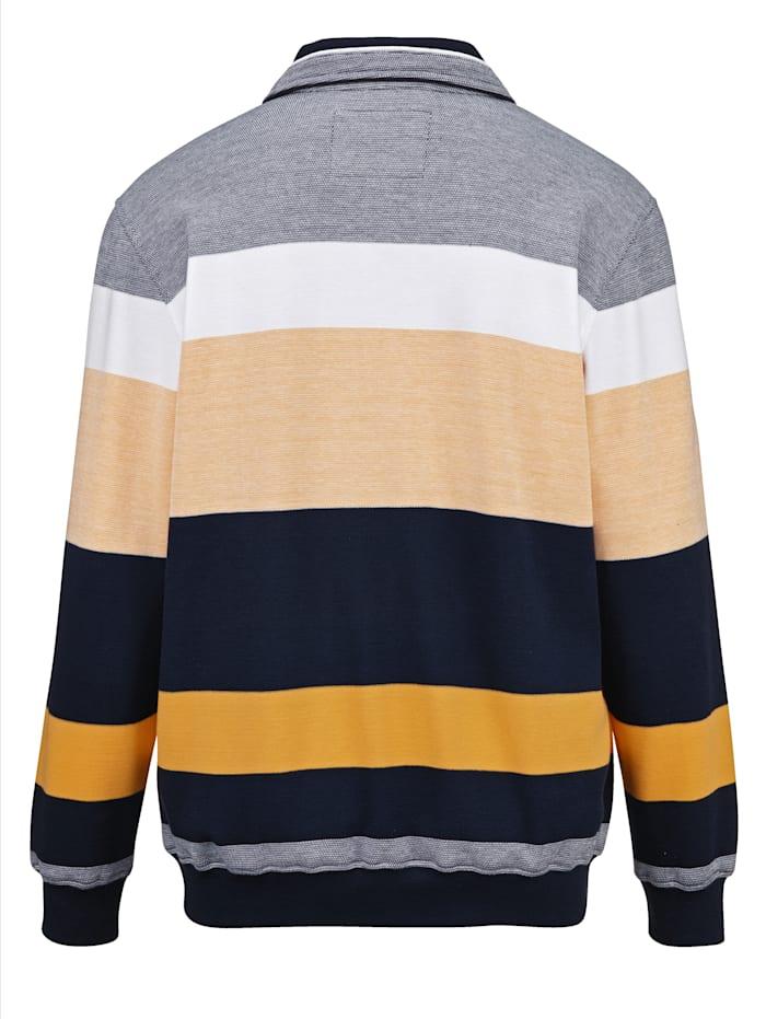 Sweatshirt mit feiner Struktur