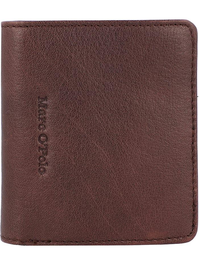 Marc O'Polo Taro Geldbörse Leder 9 cm, brown