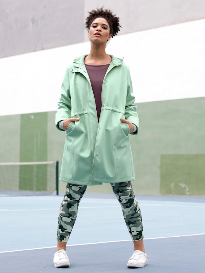 Softshell jas voor outdoor