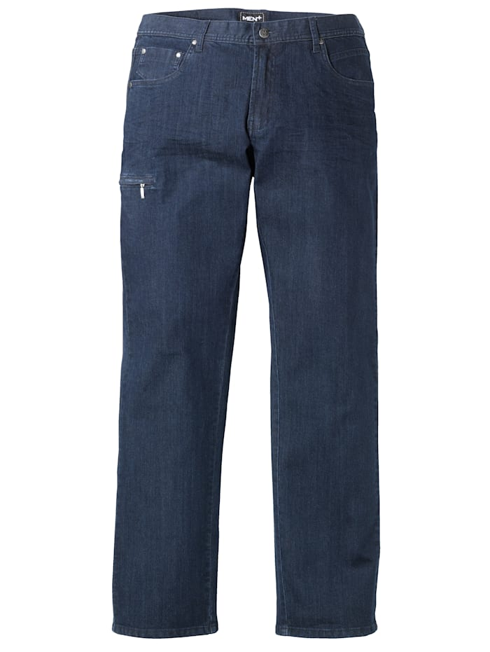 Men Plus Jeans med plats för magen, Dark blue