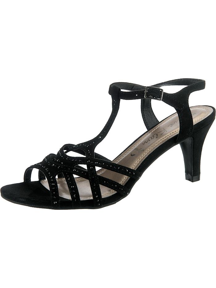 Jane Klain T-Steg-Sandaletten, schwarz