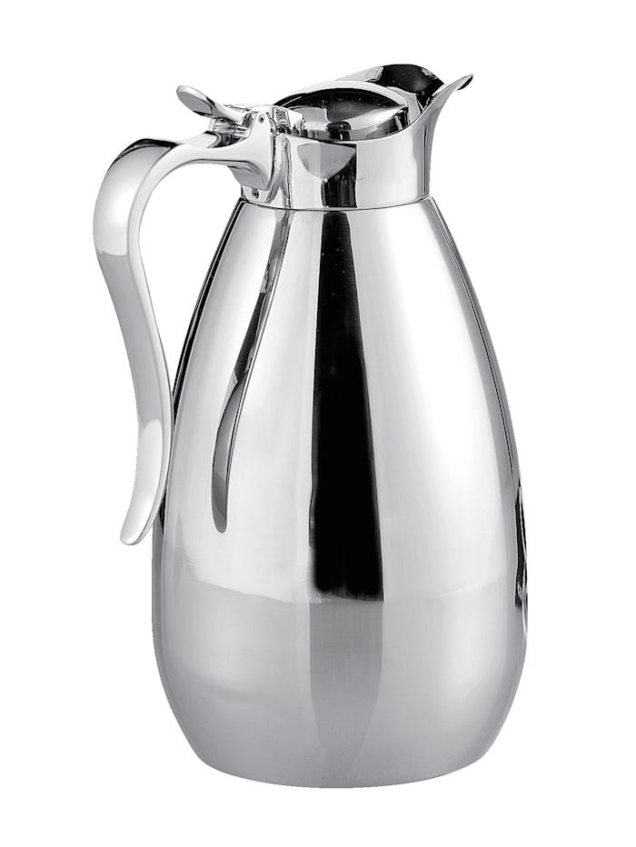 Esmeyer Thermoskan 1,0 liter, Zilver