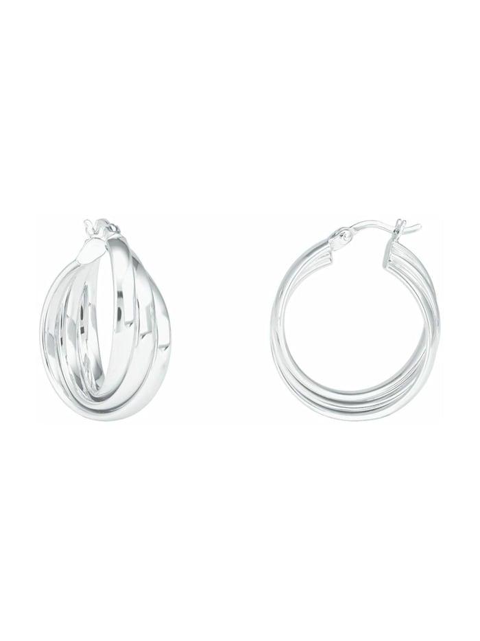 amor Creolen für Damen, Silber 925, Silber