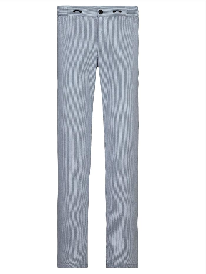 BABISTA Pantalon en seersucker estival, Bleu ciel