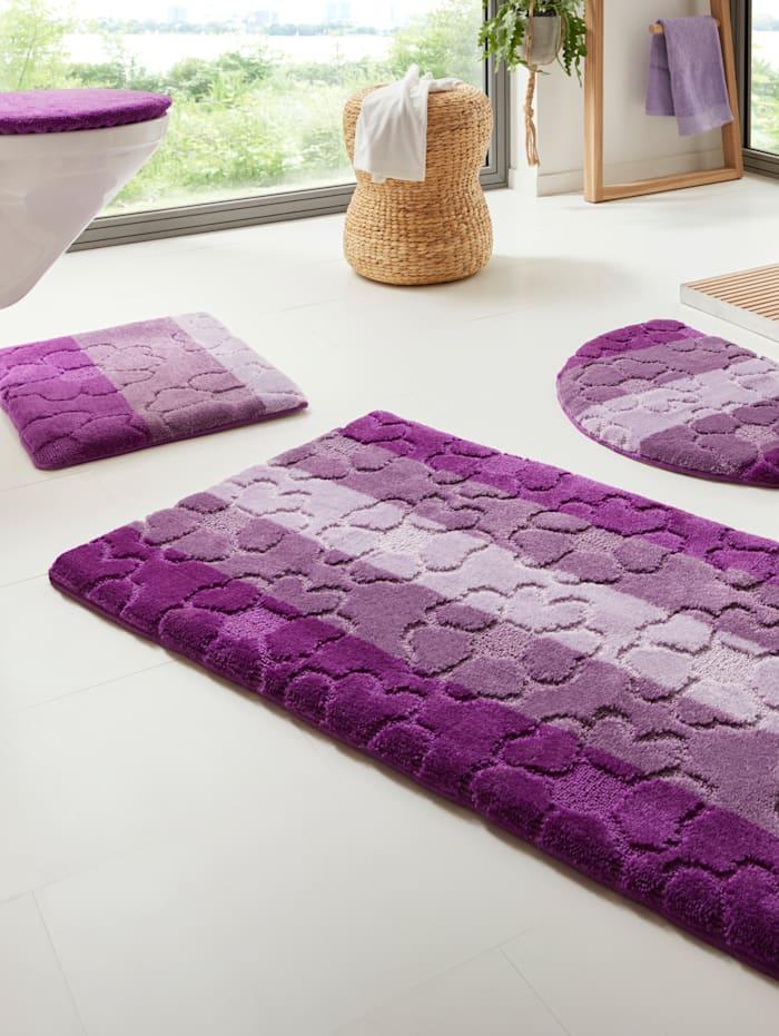 RESITAL Kúpeľňová séria 'Kvety', fialová