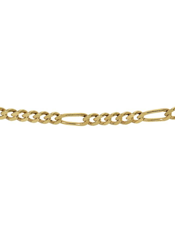 Goldkette 333 Gold für Damen und Herren Figaro Diamantiert