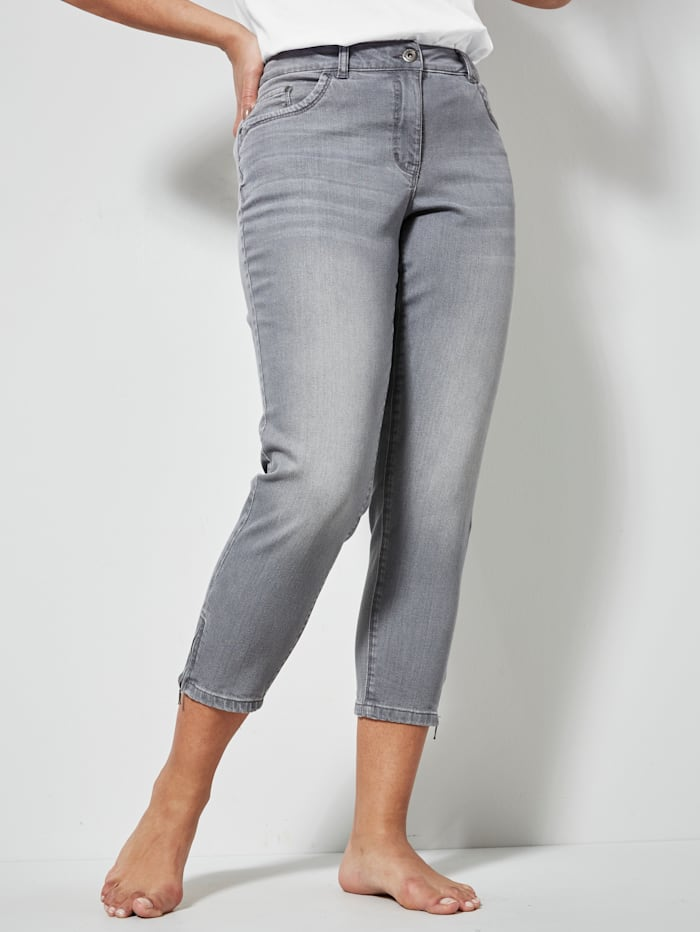 Dollywood Jeans Irma Slim Fit, Grey